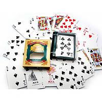 Карты игральные покерные пластиковые Duke 54 листа 88х58 мм DN18881, КОД: 716547