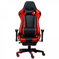 """Кресло компьютерное """"Drive-Omega"""" Черный/Красный"""