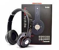 Наушники беспроводные Monster Beats HD S460 Bluetooth (MP3, FM, Aux, Mic) Черные