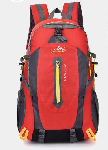 Городской спортивный рюкзак Baishigi на 27 л, красный