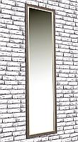 Зеркало настенное Factura в пластиковом багете Brown 45х169 см коричневое, фото 1