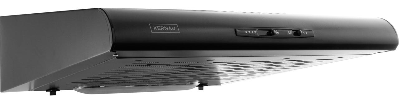 Черная подвесная вытяжка Kernau KBH 0960.1 B