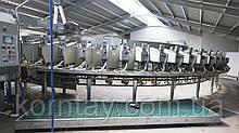 Доильный зал карусельного типа SR External для коз