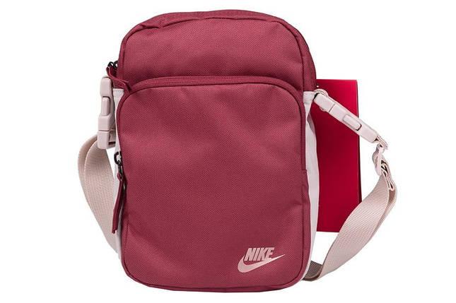 Сумка Nike Heritage Smit 2.0 BA5898-661 Красный (193145973572), фото 2