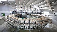 Доильный зал карусельного типа SR Internal для овец и коз