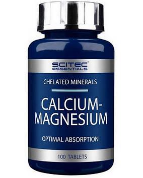 Calcium - Magnesium (100 tabs) Scitec Nutrition