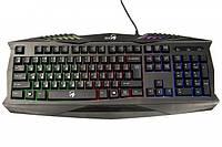 Клавіатура Genius Scorpion K220 USB Black Ukr