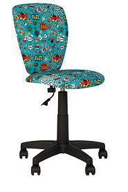 Кресло детское Polly GTS black, ткань СМ-01 (Новый стиль ТМ)