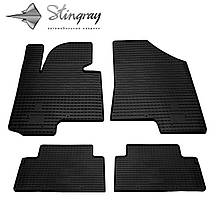 Kia Sportage III 2010- Комплект из 4-х ковриков Черный в салон