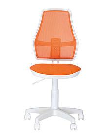 Кресло детское FOX GTS WHITE PL55 спинка ОН-9, сиденье АВ-17 (Новый Стиль ТМ)