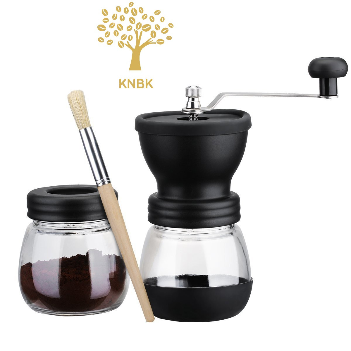 Ручная кофемолка с запасной колбой