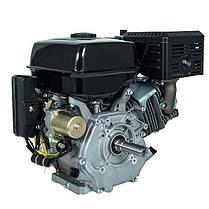 Двигатель бензиновый Кентавр ДВЗ-420БЕ (15 л.с., шпонка, вал 25мм, электростарт), фото 3