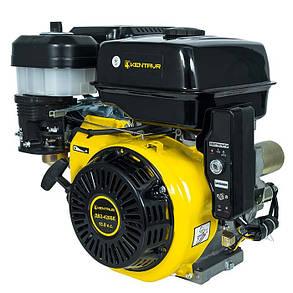 Двигатель бензиновый Кентавр ДВЗ-420БЕ (15 л.с., шпонка, вал 25мм, электростарт), фото 2