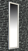Зеркало настенное Factura в пластиковом багете White prince 45х169 см белое