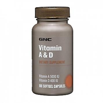 Vitamin A & D (100 softgels) GNC