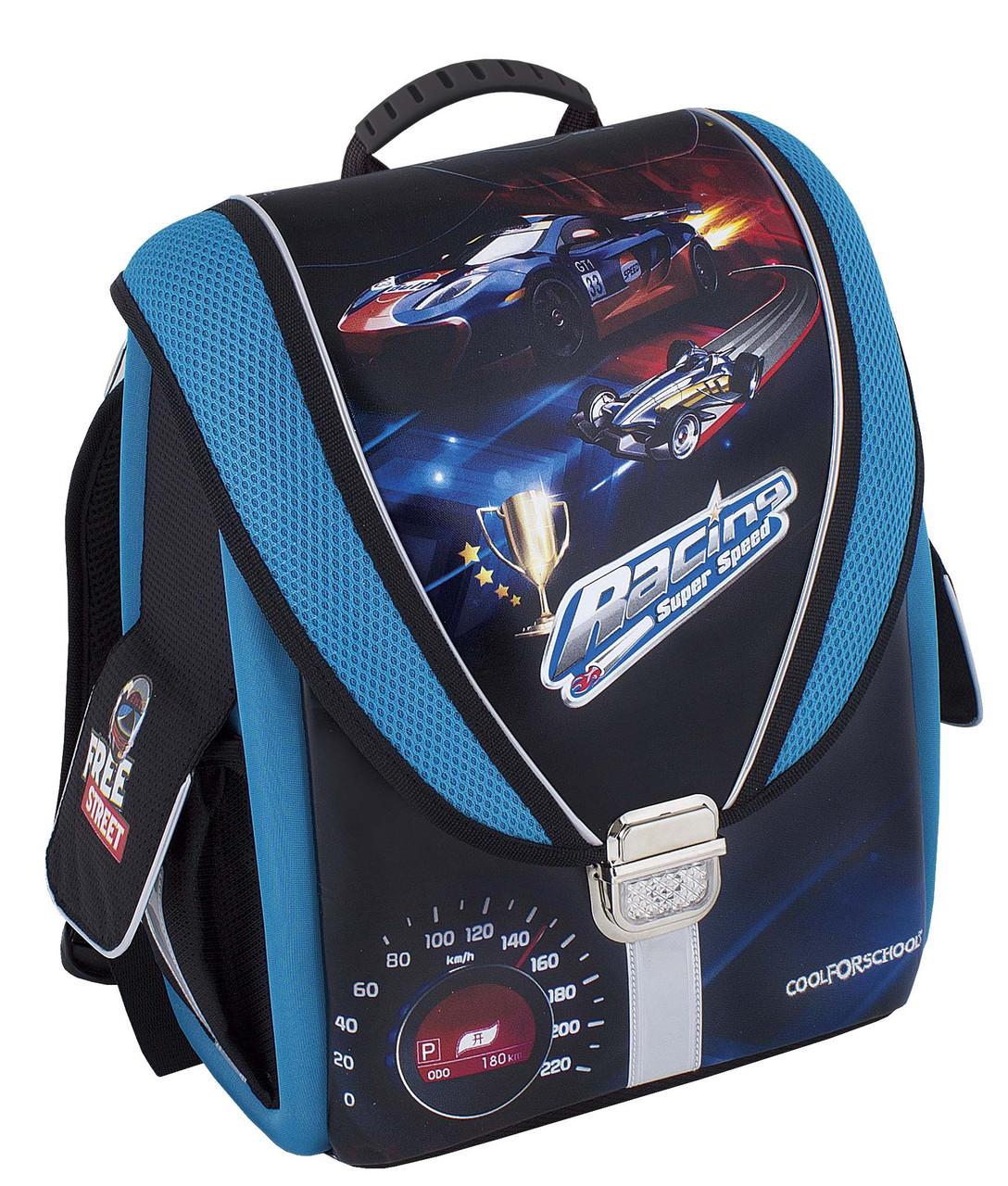 """Ранец-трансформер ортопедический  CF85453 """"Racing. Super Speed"""""""