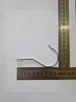 Гачок металевий, сріблястий(для хангерів)