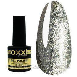 Oxxi № 095 насыщенные серебристые блестки 10 ml