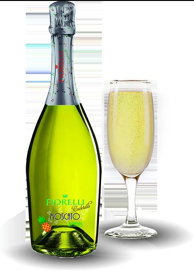 Напиток на основе вина Fiorelli Moscato Ananas 0.75 л  Италия