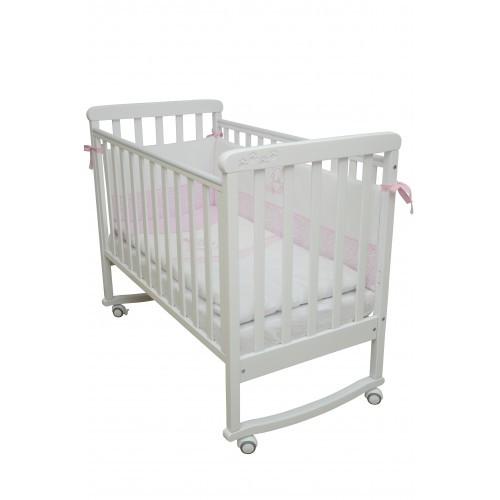 Детская кроватка Верес Соня ЛД 12 белая