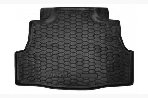 Коврик багажника (пластик) Nissan Almera Classic 2006-2012 гг.