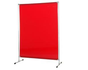 Екран Cepro Gazelle 2000х1400 мм з червоною захисної шторою Orange-CE 1700х1400х0.4 мм