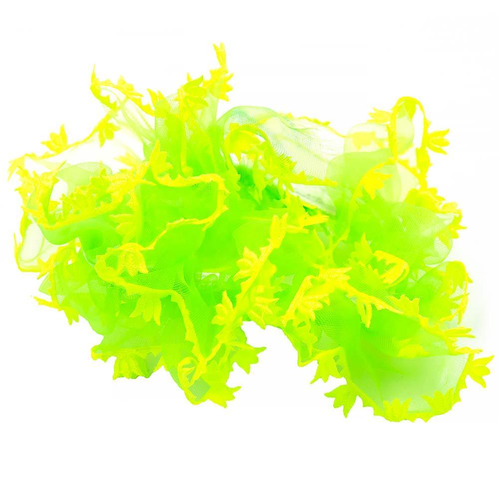 Резинка шифон на резинке, объемная, цвет в ассортименте