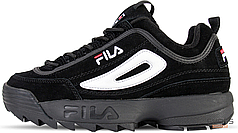 Мужские кроссовки Fila Disruptor II Black FS1HTA1078X, Фила Дизраптор