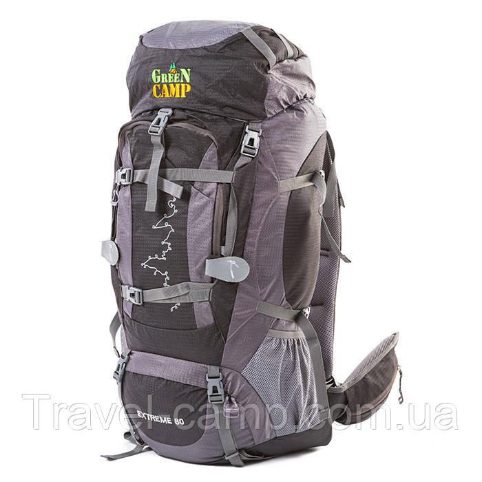 Туристичний рюкзак Green camp 80л