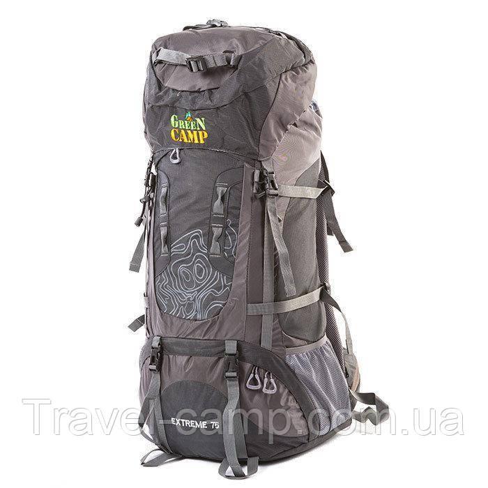 Туристичний рюкзак Green camp 75л