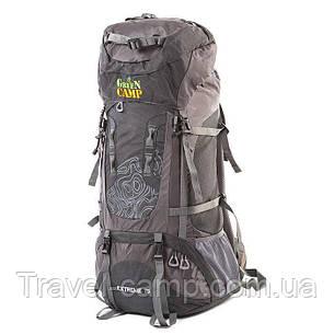 Туристичний рюкзак Green camp 75л, фото 2