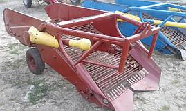 Картофелекопалка навесная 2-х рядная польская Z609 (Agromet), фото 3
