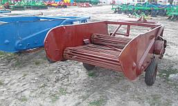 Картофелекопалка навесная 2-х рядная польская Z609 (Agromet), фото 2