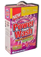 Стиральный порошок Power Wash professional 9.1 кг концентрат из Германии