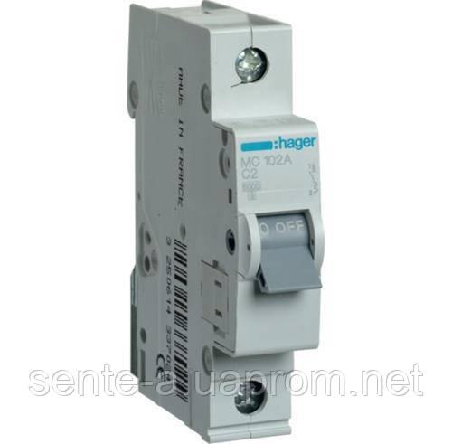 Автоматичний вимикач 1 пол. 3А тип З 6КА МС103А HAGER