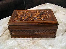Шкатулка сувенирная в резьбе, фото 3