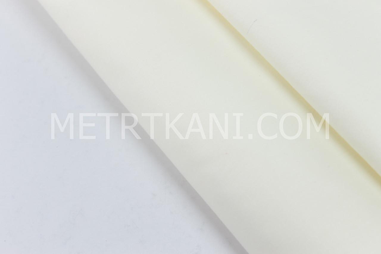Сатин однотонный кремового цвета № 160-164 с
