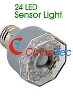 LED лампа с ИК-датчиком движения 3Вт E27, фото 1
