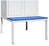 Скамейка для одежного шкафа СГ модель 4, размеры 370х800х800мм