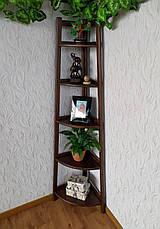 """Деревянная подставка для цветов и декора """"Робин - 2"""", фото 2"""