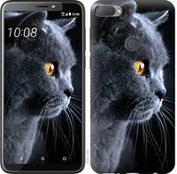 Чехол EndorPhone на HTC Desire 12 Plus Красивый кот 3038u-1485, КОД: 927569