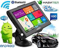 "Новый мощный GPS навигатор MiXzo MX760 7"" 8 Ядер 1/16 FM AV Android 4.4"
