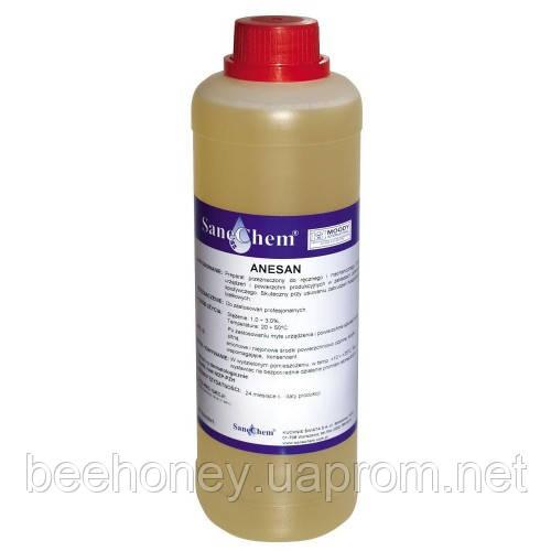 Anesan упаковка.1литр, препарат для видалення залишків меду