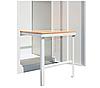 Скамейка выдвижная для одежного шкафа СГ модель 7, размеры 370х360х400мм