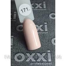 Гель-лак Oxxi № 171 розово-кремовый, эмаль 10 ml