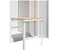 Скамейка выдвижная для одежного шкафа СГ модель 8, размеры 370х260х400мм, фото 1