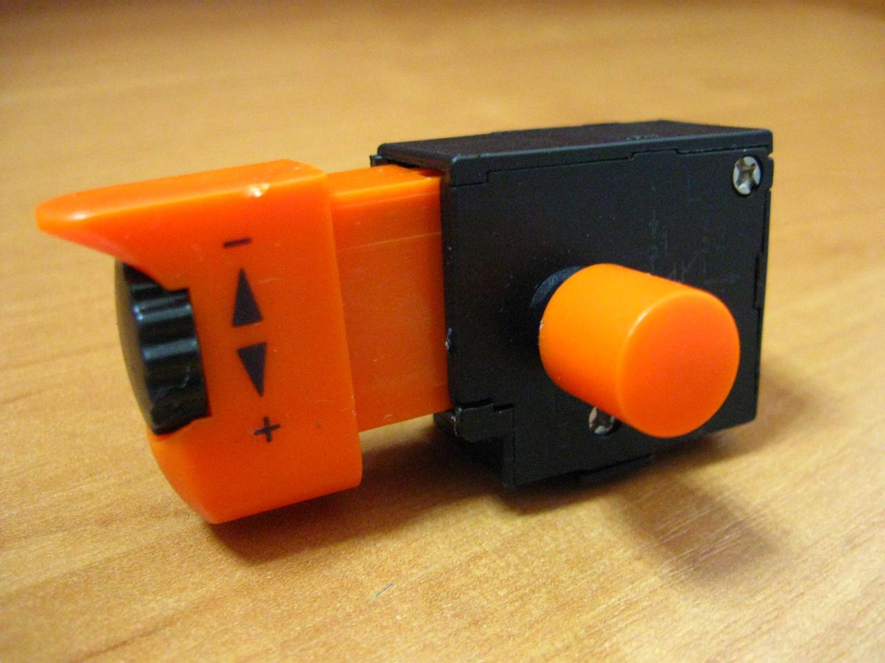 Кнопка шлифмашины с регулировкой