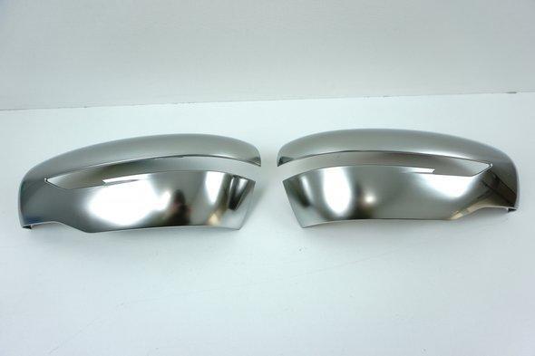 Накладки на зеркала 2014↗ Серый Мат (2 шт, пласт.) Nissan Juke 2010↗ гг.