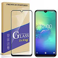 Оригинальное закаленное защитное 5D стекло для Oukitel C15 Pro / есть чехлы  /, фото 1