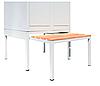 Скамейка выдвижная для одежного шкафа СГ модель 11, размеры  370х800 мм